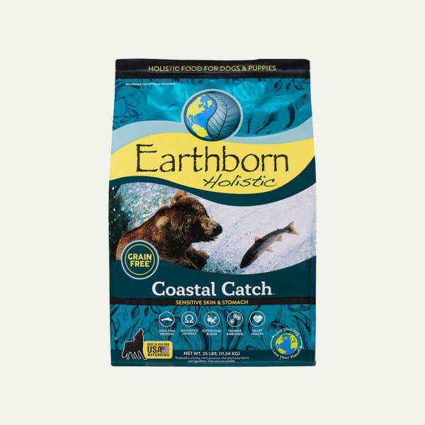 Earthborn Holistic Coastal Catch dog food - front of bag