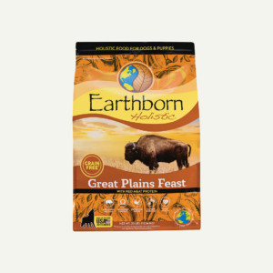 Earthborn Holistic Great Plains Feast dog food - front of bag