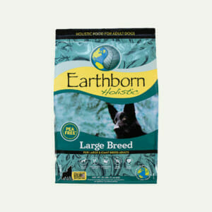 Earthborn Holistic Large Breed dog food - front of bag