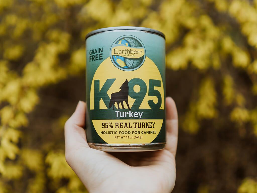 Earthborn Holistic K95 Turkey dog food - UPC