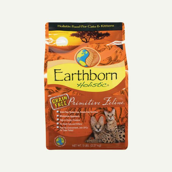 Earthborn Holistic Primitive Feline cat food - front of bag