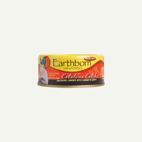 Earthborn Holistic Catalina Catch cat food - front of can