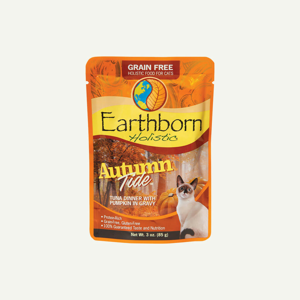 Earthborn Holistic Autumn Tide cat food - front of pouch