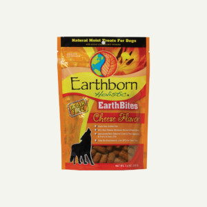 Earthborn Holistic EarthBites Cheese Flavor - front of bag
