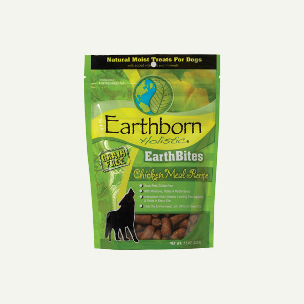 Earthborn Holistic EarthBites Chicken Meal Recipe - front of bag