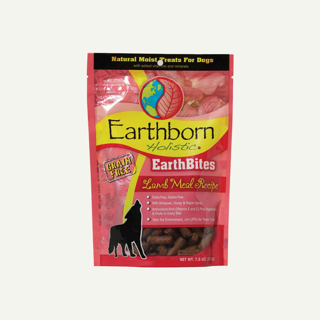 Earthborn Holistic EarthBites Lamb Meal Recipe - front of bag