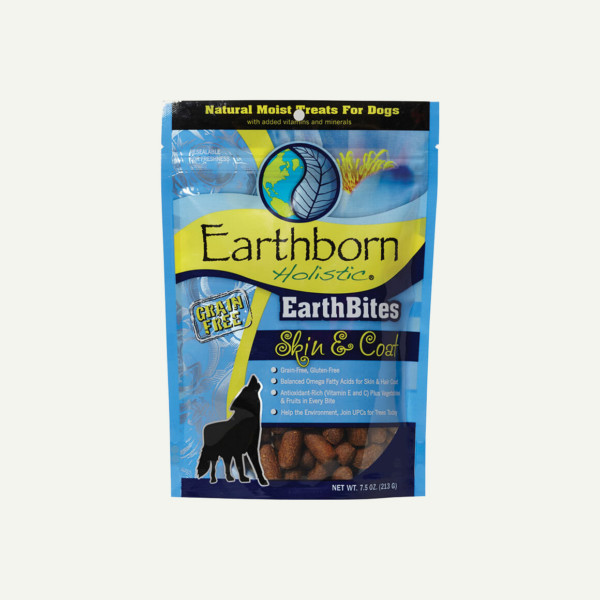 Earthborn Holistic EarthBites Skin and Coat - front of bag