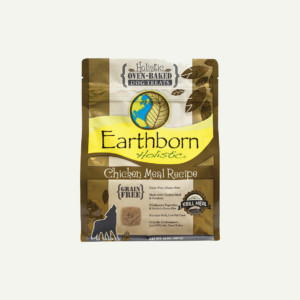 Earthborn Holistic Biscuits Chicken Meal Recipe - front of bag
