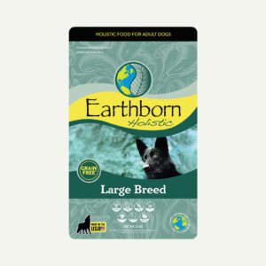 Earthborn Holistic Large Breed dog food - front of bag (12kg)