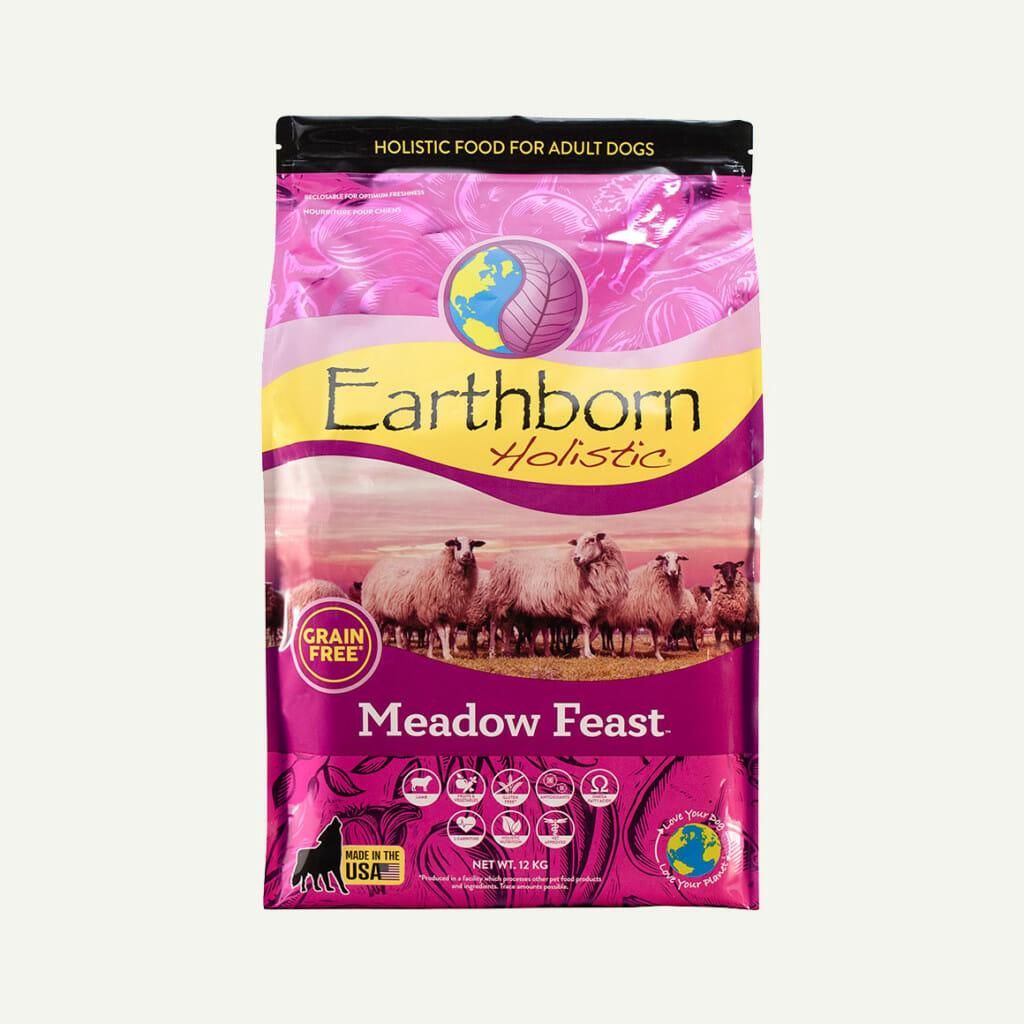 Earthborn Holistic Meadow Feast dog food - front of bag (12kg)