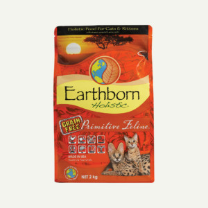 Earthborn Holistic Primitive Feline cat food - front of bag