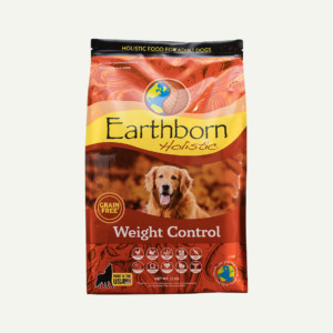 Earthborn Holistic Weight Control dog food - front of bag (12kg)