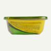 Earthborn Holistic Chip's Chicken Casserole Stew dog food - back of tub